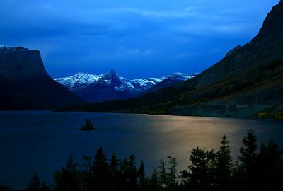 Glacier by Moonlight - Glacier National Park