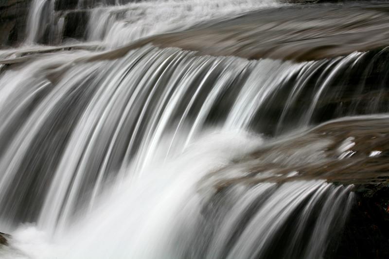 West Glacier Waterfall - Glacier National Park