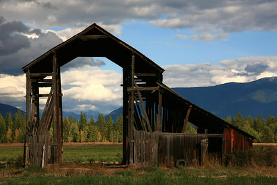 Weathered Barn - Whitefish, Montana