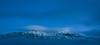 Blue Hour Montana Mountains