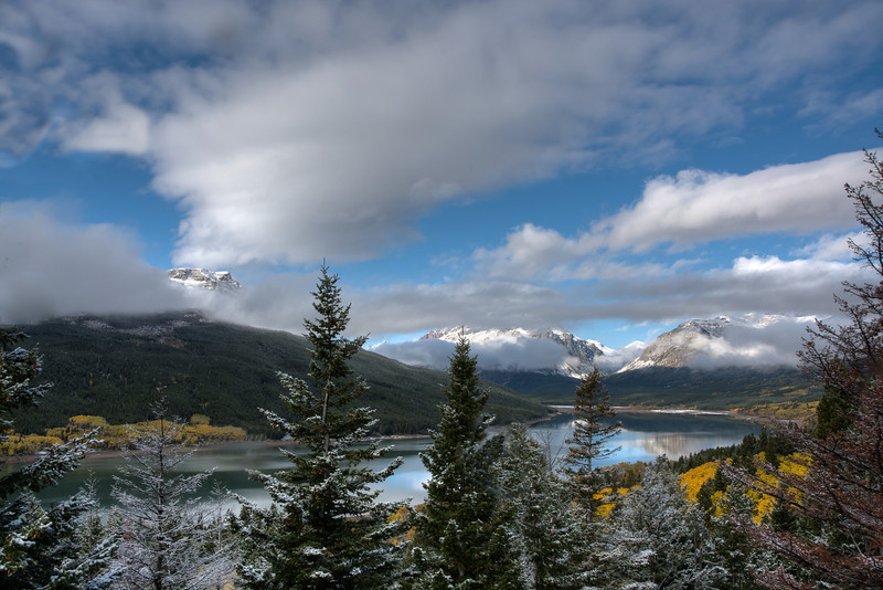 A View Of Two Medicine Lake