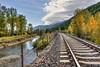 Montana along Hwy 2 along Middle Flathead River