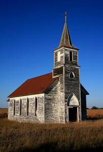 Abandoned church - Nebraska