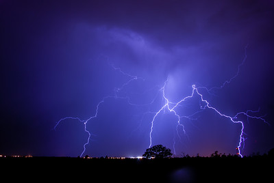 Lightning Storm - Los Alamos, New Mexico