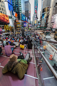 Photographing Times Square