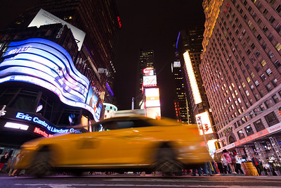 Times Square Yellow Cab
