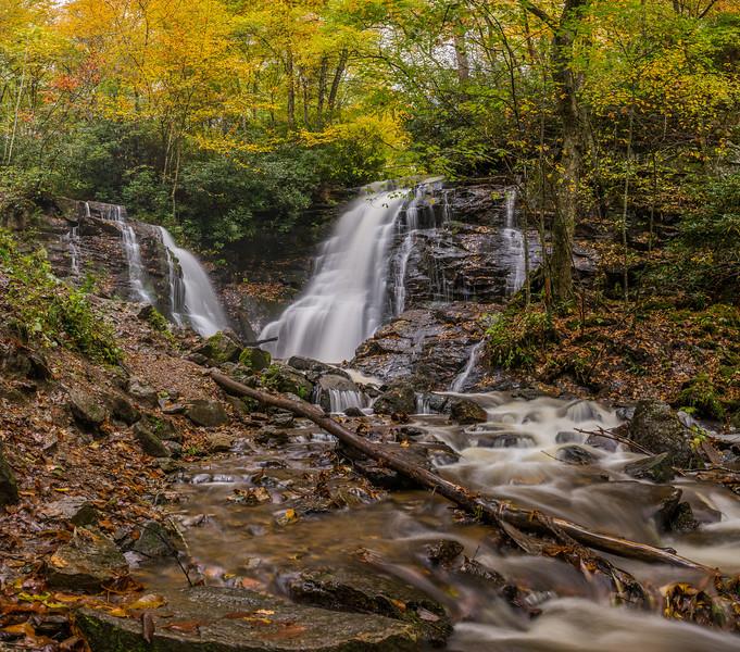 Soco Falls At Maggie Valley