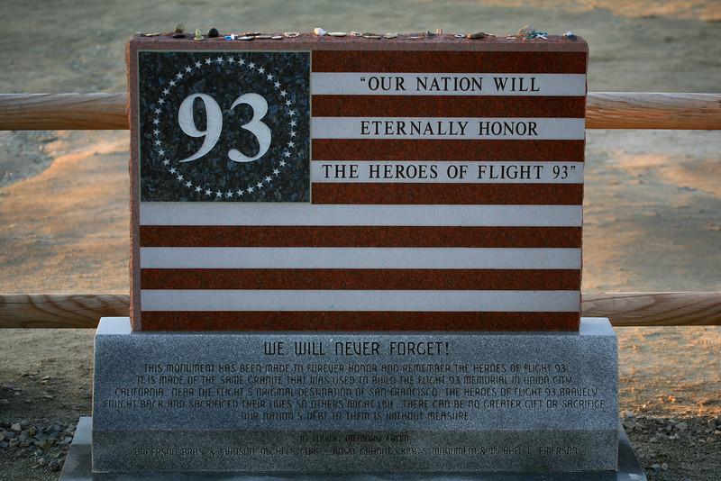 Flight 93 Memorial - Shanksville, PA