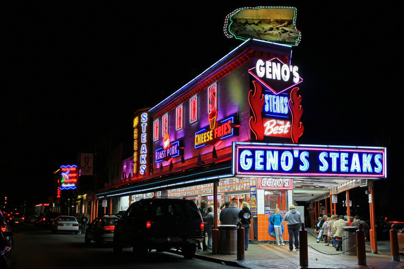 Geno's Steaks - Philadelphia, PA