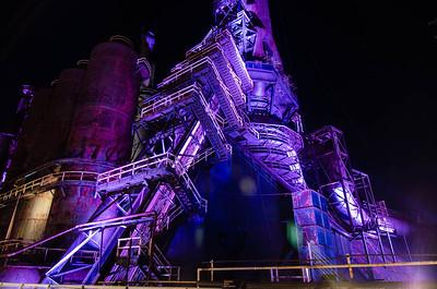"""Bethlehem Steel Plant - """"Steel Stacks"""" - Bethlehem, Pennsylvania"""