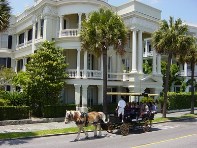 Along the Battery - Charleston South Carolina
