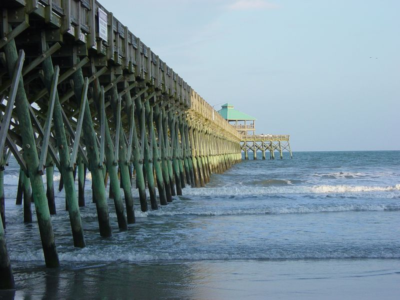 Folly Beach Pier - Folly Beach, South Carolina