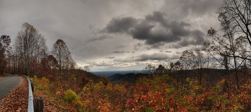 View of South Carolina Mountains