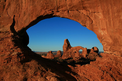 Window Arch - Arches National Park, Utah