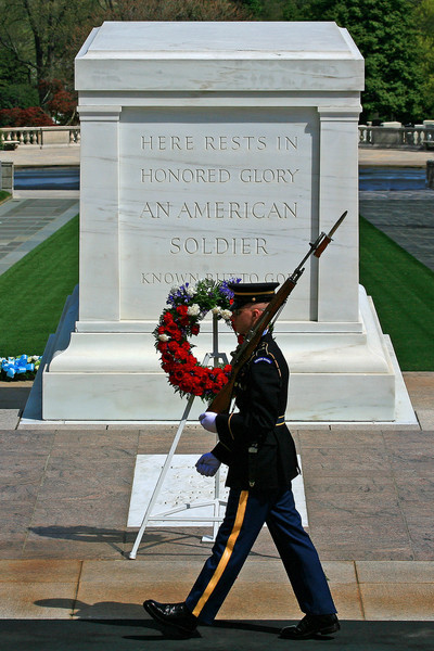Tomb of the Unknown Soldier - Arlington National Cemetery, Virginia