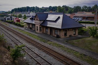 Abingdon Train Station - Abingdon, Virginia