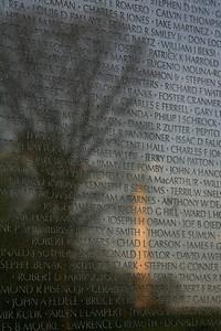 Vietnam Veterans Memorial (Washington Memorial reflecting) - Washington D.C.