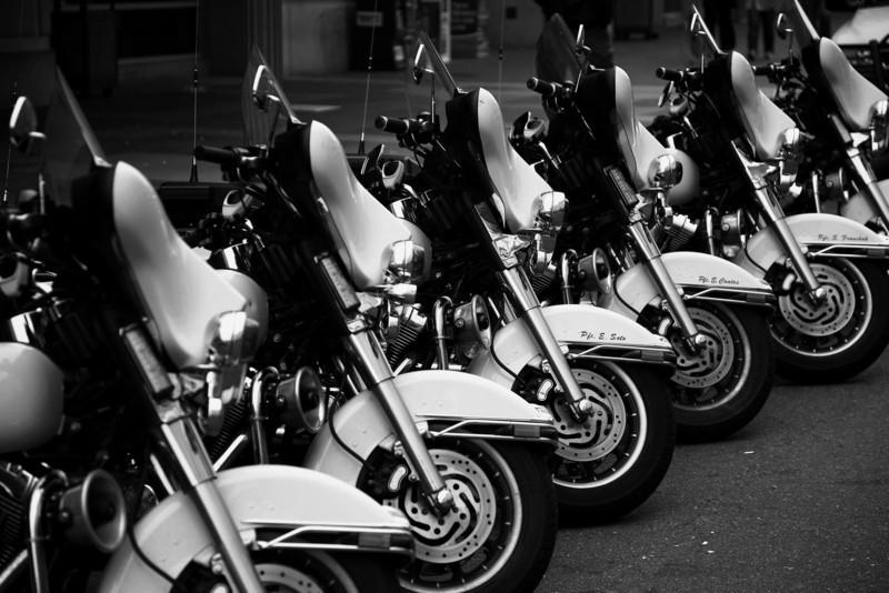 Police Bikes - Washington D.C.