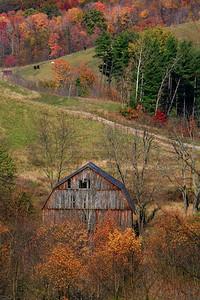 Weathered Barn - Brooke County, West Virginia