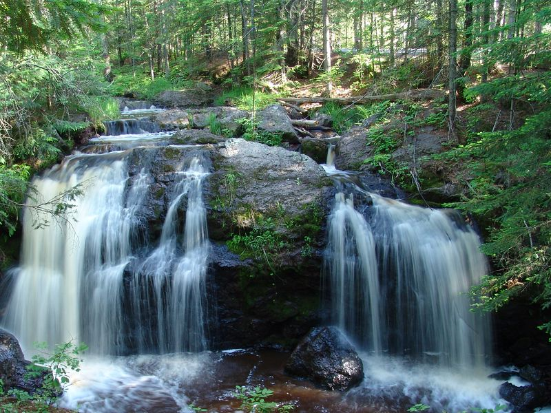 Now and Then Falls, Wisconsin