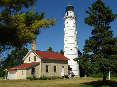 Cana Island Lighthouse - Door County, Wisconsin