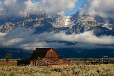 Moulton Barn - Grand Teton National Park, WY