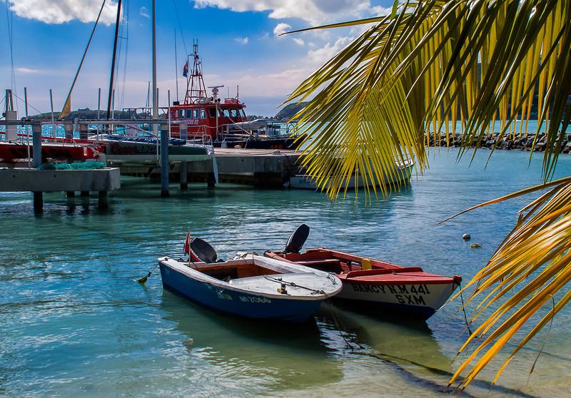 Boat Harbor, Philipsburg, St. Maarten