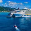 Cruise Ships, Philipsburg, St. Maarten