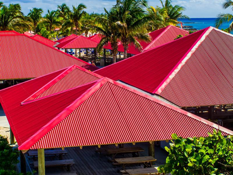 Red Roofs; Princess Cay, Bahamas