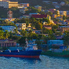 Merchant ships; Crown Bay, Charlotte Amalie, St. Thomas