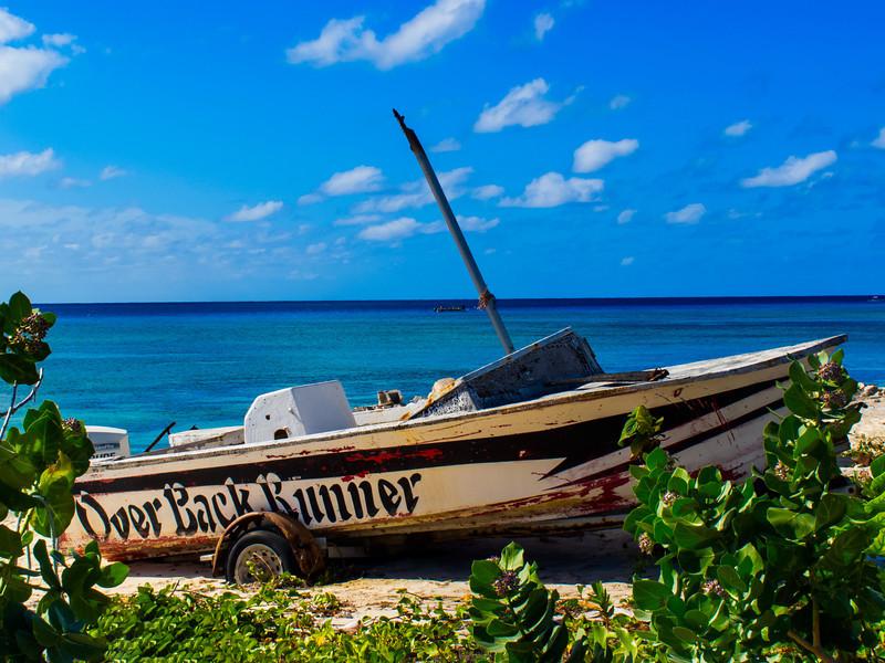 """Shipwrecked;""  Grand Turk"