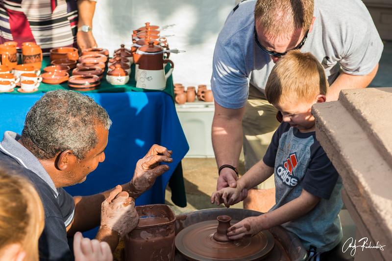 Pottery Making in San Juan, Puerto Rico