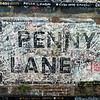 Sign on Penny Lane; Liverpool, England