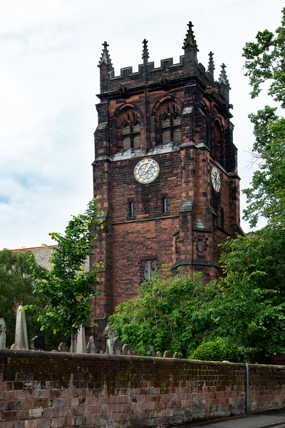 Church where Paul and John attended as boys; Eleanor Rigby's Grave; Liverpool, England