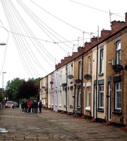 Ringo Starr's Boyhood Home; Admiral Grove, Liverpool, England