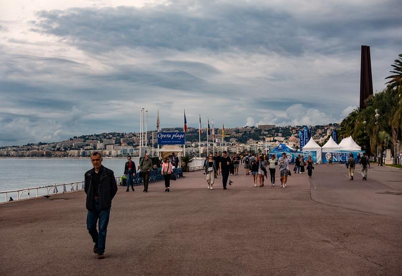 Promenade des Anglais; Nice, France