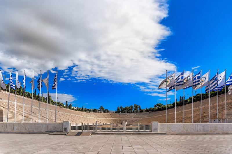 Panathaenic Stadium; Athens, Greece