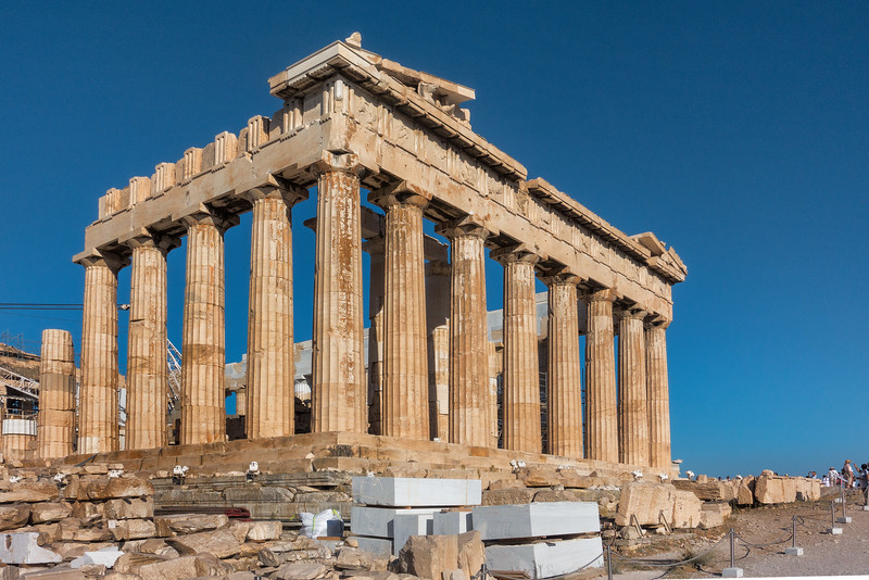 The Acropolis; Athens, Greece
