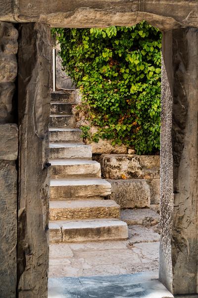 The Agora; Athens, Greece