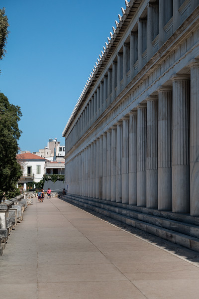 The Agora; Athens, Greece