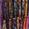 Colorful Fabrics, Mykonos, Greece