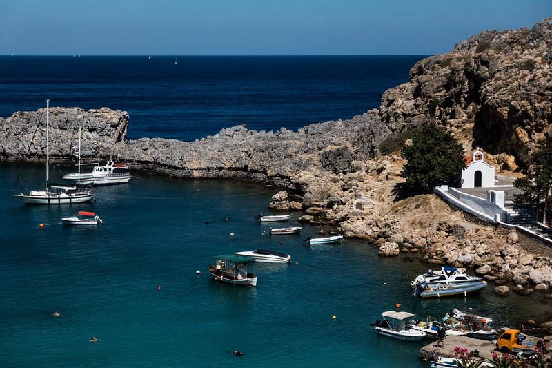 Lyndos; Rhodes, Greece