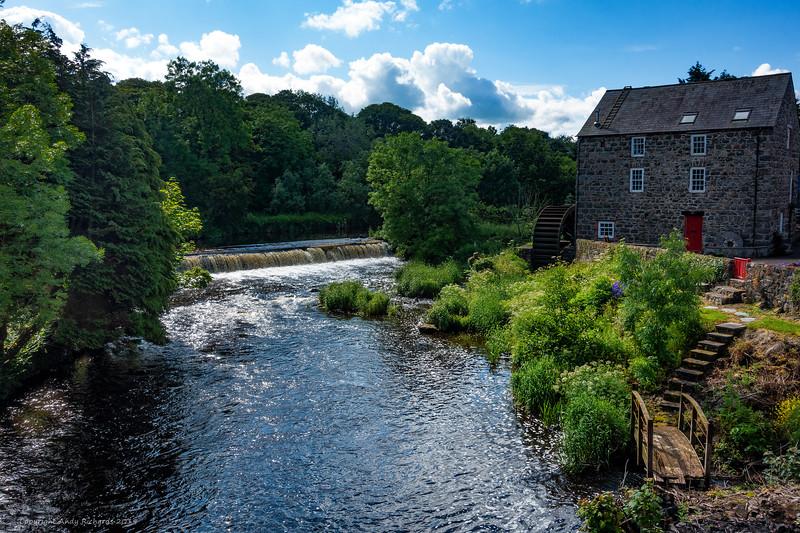 Mill on Bush River, Bushmills, Northern Ireland
