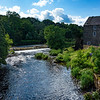 Mill on Bush River, Bushmills, Northern Ireland