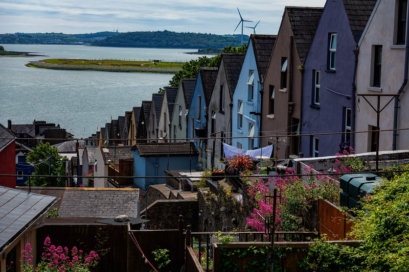 """""""The Deck of Cards,"""" Rowhouses; Cobh, Ireland"""