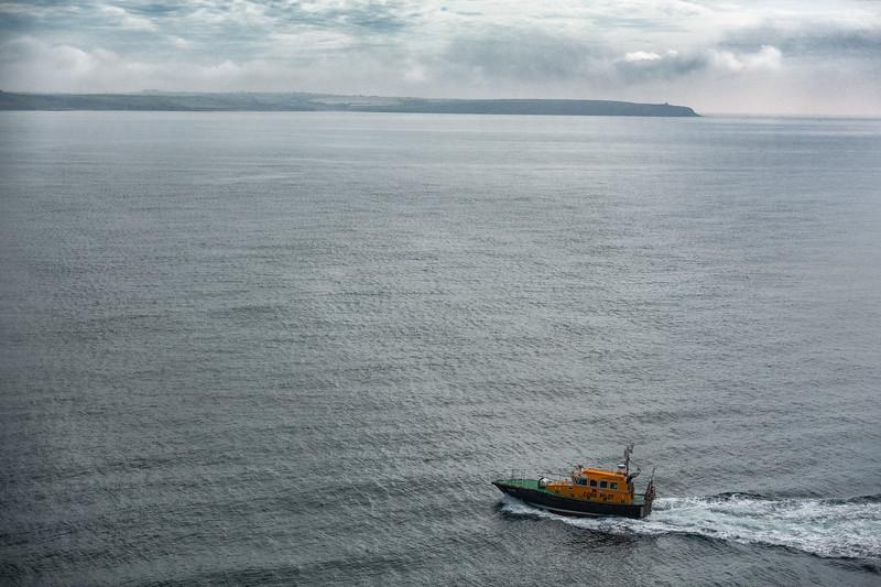 Cork Harbor Pilot Boat; Cobh, Ireland
