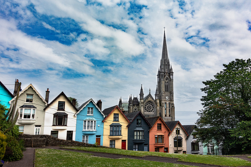 """The Deck of Cards,"" Rowhouses; Cobh, Ireland"