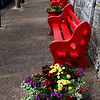 Red Benches; Cobh, Ireland