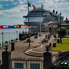 Celebrity Reflection; Cobh, Ireland
