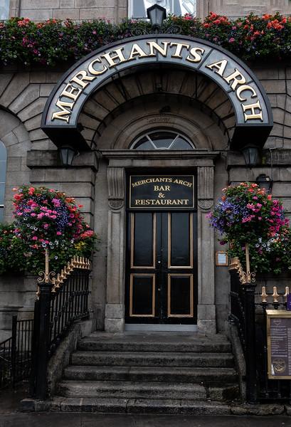 Merchants Arch Bar; Temple Bar along the River Liffey